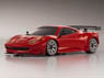 Miniz-Racer MR-03W-MM Body/Chassis Set Ferrari 458 GT2 Red Ver. (RC Model)