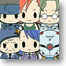 D4 Metal Gear Solid Rubber Strap Collection Vol.1 6 pieces (Anime Toy)