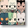D4 Metal Gear Solid Rubber Strap Collection Vol.2 6 pieces (Anime Toy)