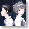 Rebuild of Evangelion Shinji & Kaworu (Anime Toy)