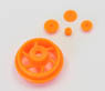 Drive Gear Set (Orange) (RC Model)