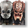 Predator2 / Guardian Predator & City Hunter Predator 1/4 Scale Action Figure Series 2 / 2 set (Completed)