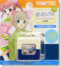 TMT-002 Tetsudou Musume Train Mark Keychain 02 Ueda Electric Railway (Yagisawa Mai & Hojo Madoka) (Model Train)