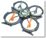 4ch 2.4GHz Multi-copter UFO (RC Model)