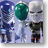 Toys Works Collection 2.5 DX Little Accel World Silver collection 6 pieces (PVC Figure)