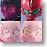 Toys Works Collection 2.5 DX Little Accel World Black collection 6 pieces (PVC Figure)