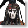 The Lone Ranger / Johnny Depp as Tonto 1/4 Action Figure (Completed)