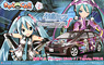 Hatsune Miku -Project DIVA- f / Toyota Prius 2009 Model (Model Car)