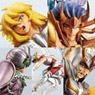 Diorama Box Collection Saint Seiya -Twelve Golden Temples- 5 pieces (PVC Figure)