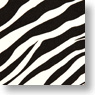 Character Card Sleeve Animal Series [Zebra] (Anime Toy)