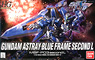 Gundam Astray Blue Frame Second L (HG) (Gundam Model Kits)
