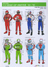1/12 Grand Prix Rider Decal Set #1 (Decal)