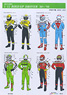 1/12 Grand Prix Rider Decal Set #2 (Decal)