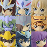 Decute Saint Seiya Omega Trading Figure 9 pieces (PVC Figure)