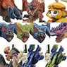 Monster Hunter Monster Mascot G8 10 pieces (Shokugan)