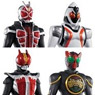 Sofubi Hero Kamen Rider Double Hero Set 10 pieces (Shokugan)