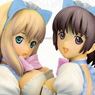 Tony x Takeshi Miyagawa Original Figure Nekomimi Maid Alice Blue Ver. (PVC Figure)