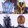 HDM Sozetsu Kamen Rider Advent Warrior of Koki 10 pieces (Shokugan)