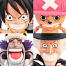 [more information] Anime Chara Heros One Piece Chapter of Winter Island 15 Pieces (PVC Figure)