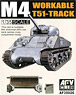 For M4/M3 Workable T51 Track (Plastic model)