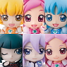 Petit Chara! Series Heart Catch PreCure! 6 pieces (PVC Figure)