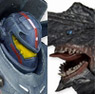 Pacific Rim/ 7 inch Action Figure: Gipsy danger vs Knife Head Kaiju 2PK (Completed)