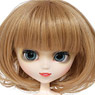 Curl Bob (Brown) (Fashion Doll)