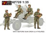 WWII US Army Bofors Gun Crew (1) (4figures) (Plastic model)