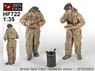 WWII British Tank Crew `Meals for Victory` (2figures) (Plastic model)