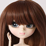 Semi Long (Light Brown x Dark Brown) (Fashion Doll)