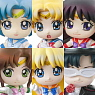 Petit Chara! Series Sailor Moon Puchi to oshiokiyo 6 pieces (PVC Figure)
