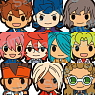 Inazuma Eleven GO 2 Trading Rubber Strap 2 10 pieces (Anime Toy)