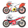YZR500 & Rider Decal Set (Decal)