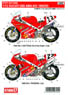 DUCATI 888 AMA #23 1992/93 Decal (Decal) (Model Car)