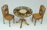 1/12 European antique table & Chair (Craft Kit) (Fashion Doll)