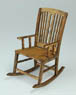 1/12 Antique Rocking chair (Craft Kit) (Fashion Doll)