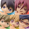 Free! Charapuka 6 pieces (PVC Figure)