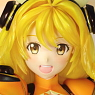 Vivid Yellow (PVC Figure)