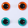 eyechips Pullip (Orange & Green) (Fashion Doll)