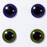 eyechips Pullip (Dark purple & Moss green) (Fashion Doll)