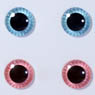 eyechips Pullip (Aqua Blue & Light Pink) (Fashion Doll)