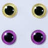 eyechips Pullip (Lemon Yellow & Red Purple) (Fashion Doll)