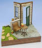 1/24 Garden A w/House & Deck (Craft Kit) (Accessory)