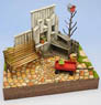 1/24 Garden B w/Terra Cotta Tile (Craft Kit) (Accessory)