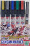 Gundam Metallic Marker Set (Paint)
