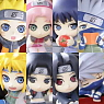 Ochatomo Series Naruto:Shippuden Break Time Konoha (Set of 8) (PVC Figure)