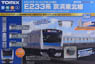 Basic Set SD Series E233-1000 (Keihin-Tohoku Line) (Fine Track, Track Layout Pattern A) (Model Train)
