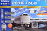Basic Set SD Series 287 Kuroshio (Fine Track, Track Layout Pattern A) (Model Train)
