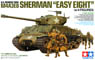 U.S. Tank M4A3E8 Sherman Easy Eight (w/Figure 4pcs...