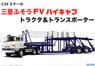 三菱ふそう FV ハイキャブ トラクタ&トランスポーター (...